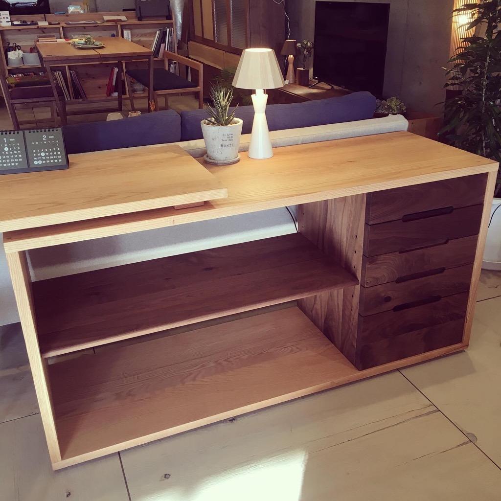 kitokiキトキデスクキャビネット/木製家具/日本製