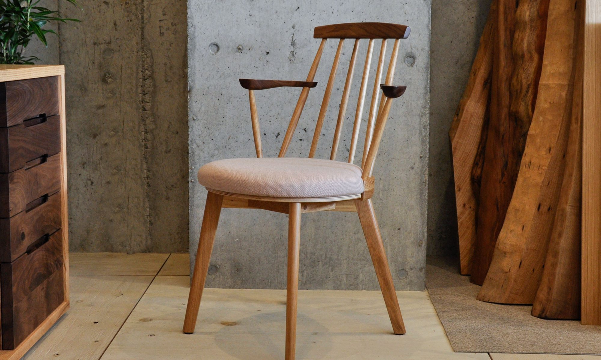 JASMINE Dining chair H arm