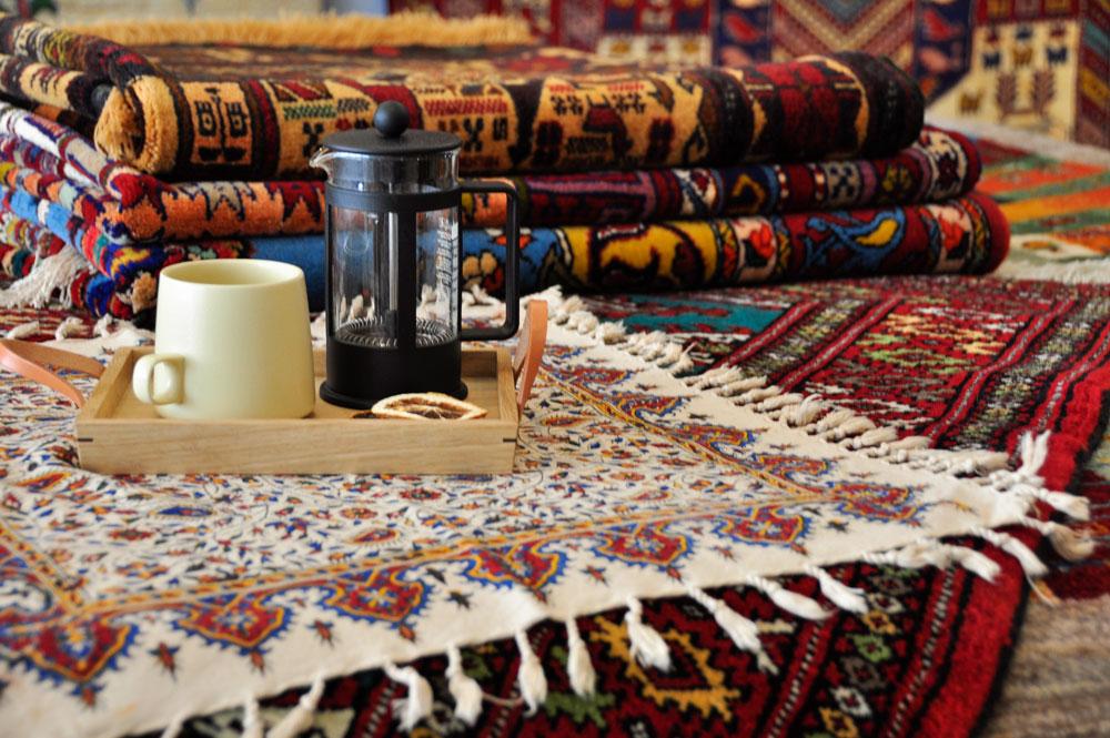 民族系絨毯